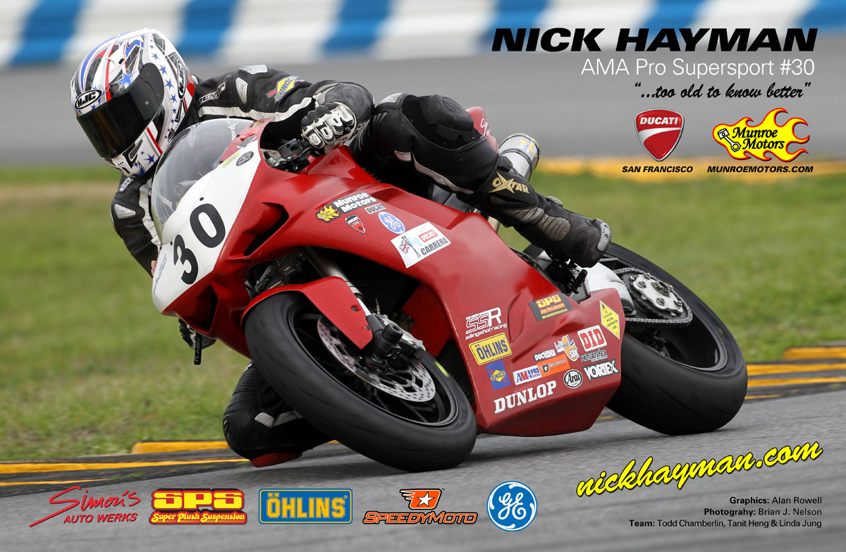 Nick Hayman AMA Poster 2011